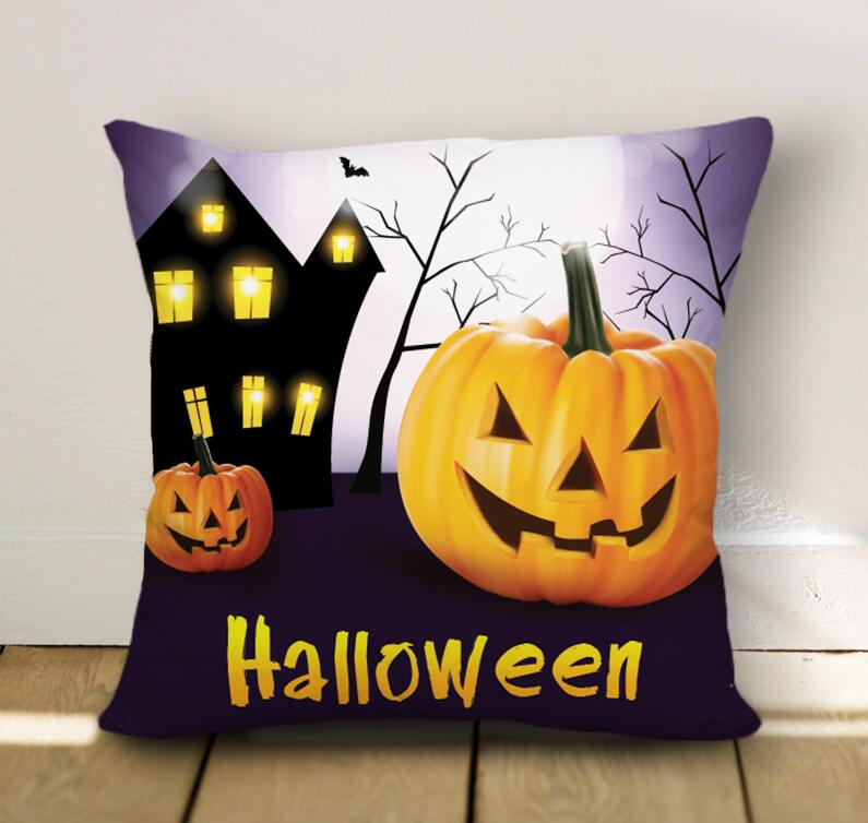Halloween Pumpkin Pillow Case