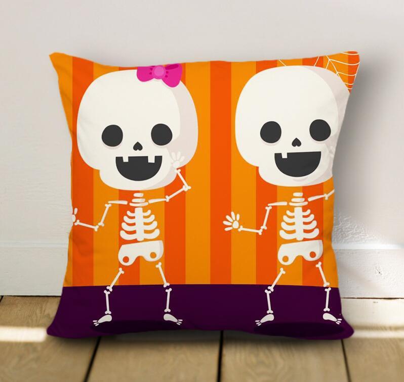Halloween Funny Goast Pillow Case