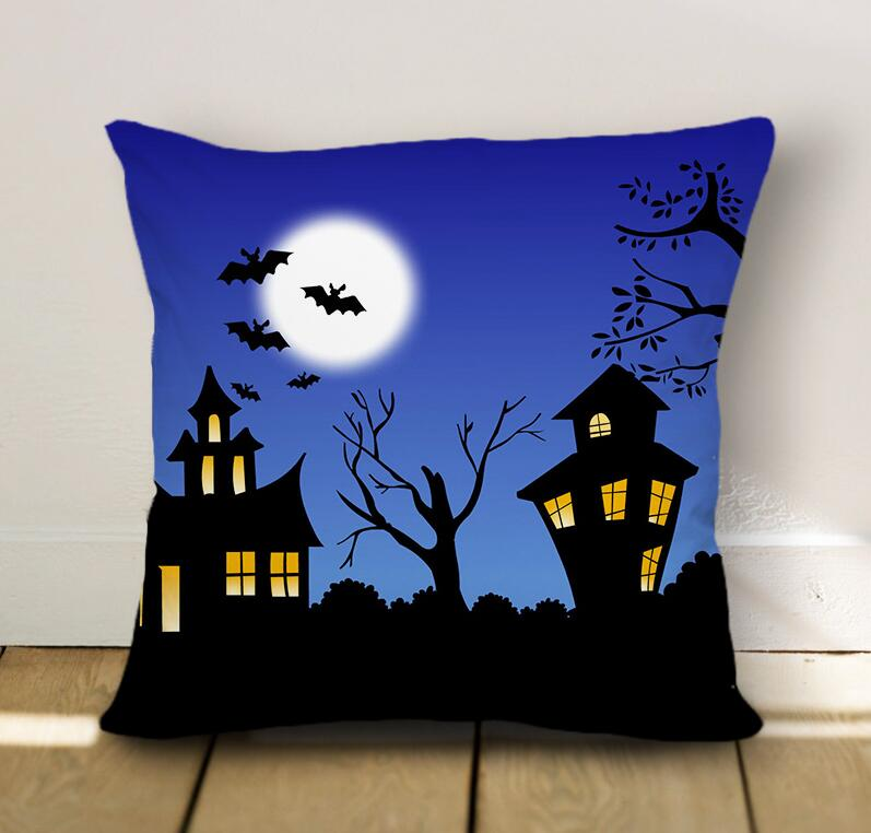Halloween Designed Funny Pillow Case