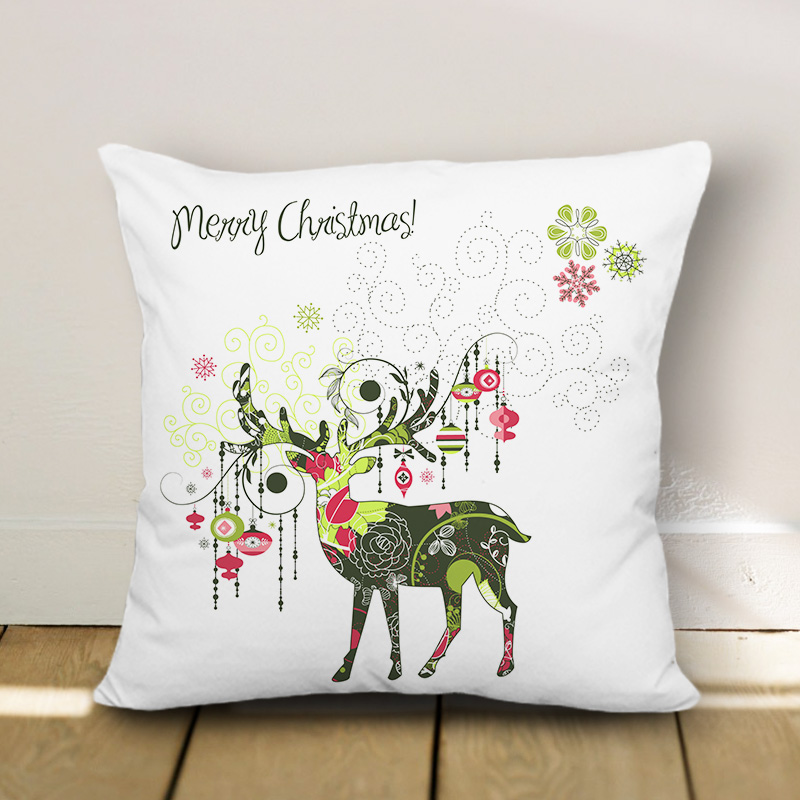 博154 Merry Christmas Pillow Case