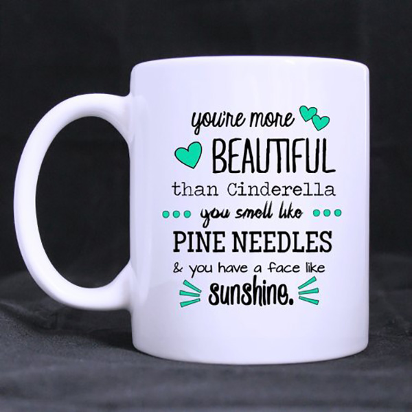 博166 Custom Funny Saying & Quotes 11oz Ceramic Coffee,Tea Mug