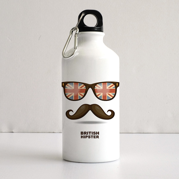 博147 Art Printed Sports Water Bottles