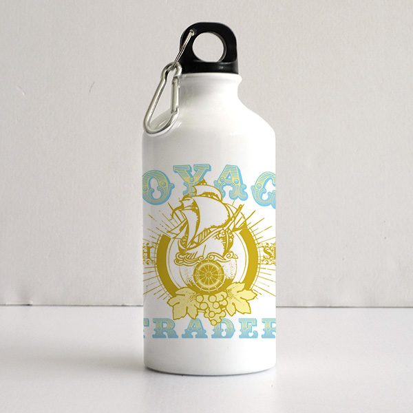 博148 Art Printed Sports Water Bottles