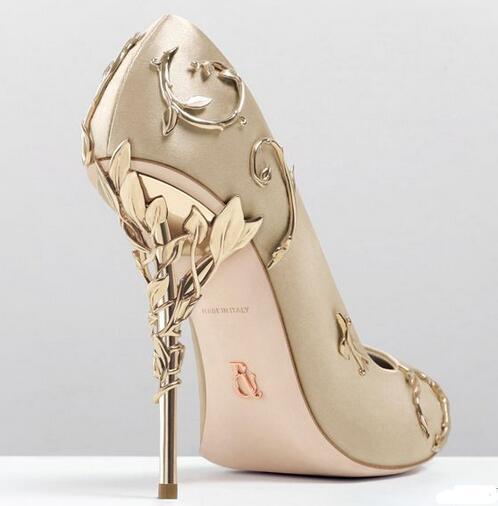 """博客16Ralph & Russo """"伊甸园(Eden)""""系列高跟鞋。花枝蔓延,藤蔓缠绕……足尖上的优雅与浪漫 (1)"""