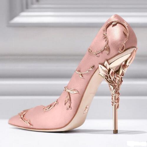 """博客16Ralph & Russo """"伊甸园(Eden)""""系列高跟鞋。花枝蔓延,藤蔓缠绕……足尖上的优雅与浪漫 (2)"""