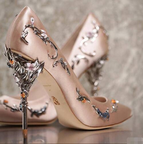 """博客16Ralph & Russo """"伊甸园(Eden)""""系列高跟鞋。花枝蔓延,藤蔓缠绕……足尖上的优雅与浪漫 (3)"""